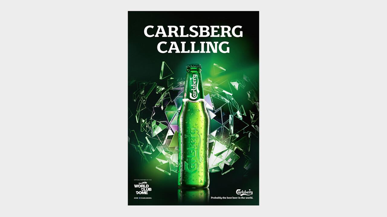 Carlsberg OOH Anzeige Carlsberg Calling