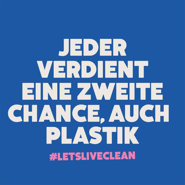 Ecover Social Media Posting Jeder verdient eine zweite Chance, auch Plastik