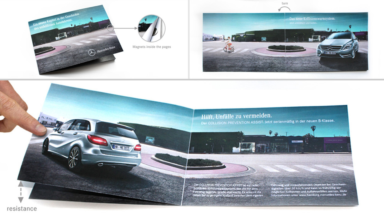 Mercedes Benz Niederlassung Hamburg Mailing Widerstand Prevention Assist