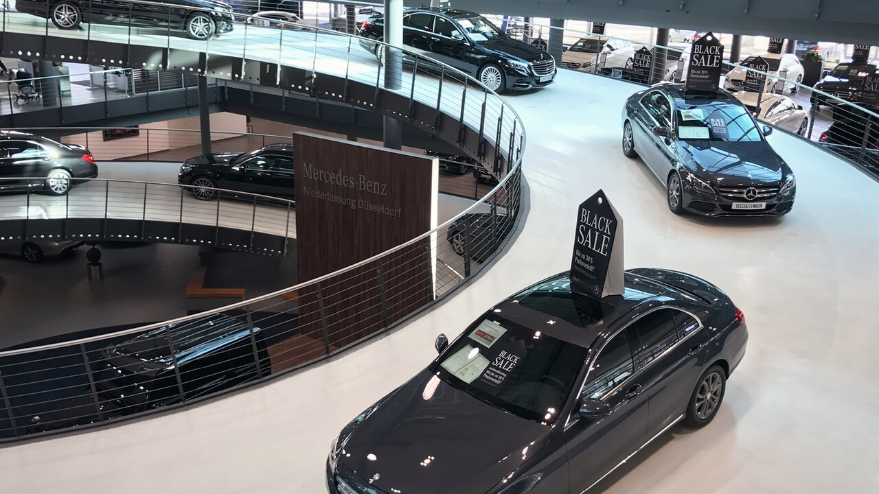 Mercedes Benz Black Sale POS Autokarussell