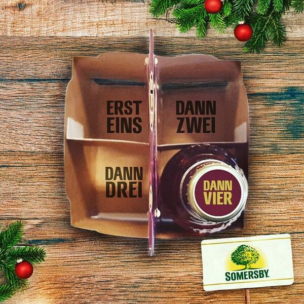 Somersby Social Posting Vierer Pack Sommersby mit Zaehler
