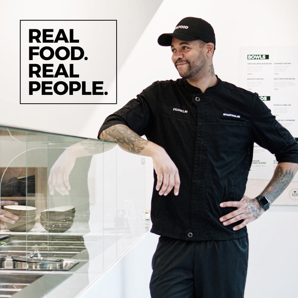 Stadtsalat Social Posting Franklin Real food. Real people.