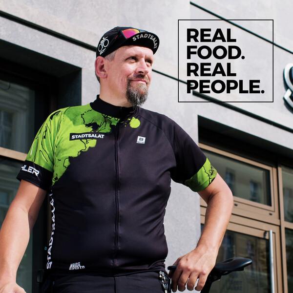 Stadtsalat Social Posting Uwe Real food. Real people.