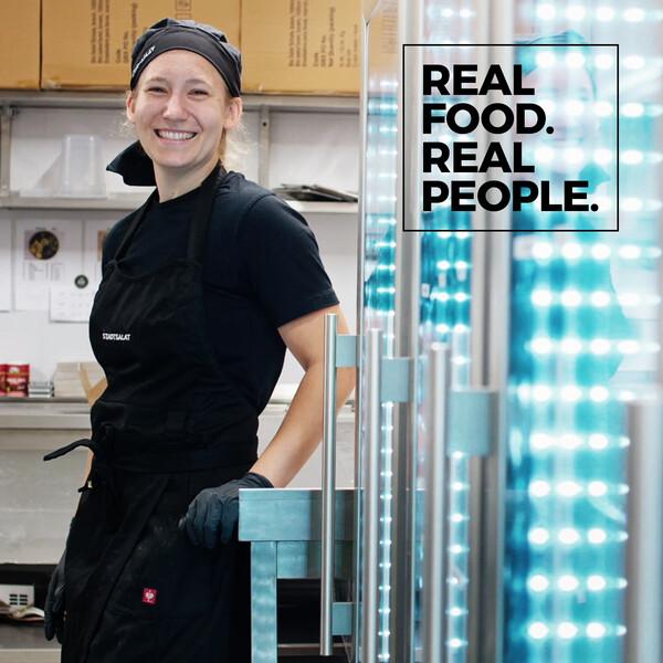 Stadtsalat Social Posting Svenya Real food. Real people.