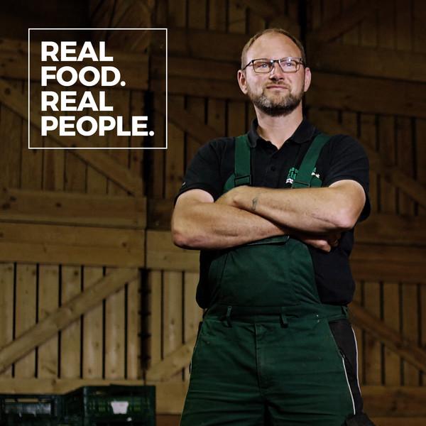 Stadtsalat Social Posting Frank Real food. Real people.