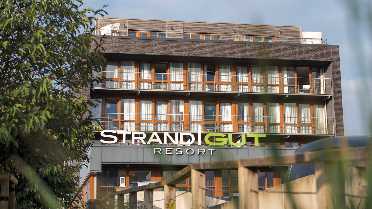 StrandGut Resorts Außenaufnahme des StrandGut Resorts in St. Peter-Ording