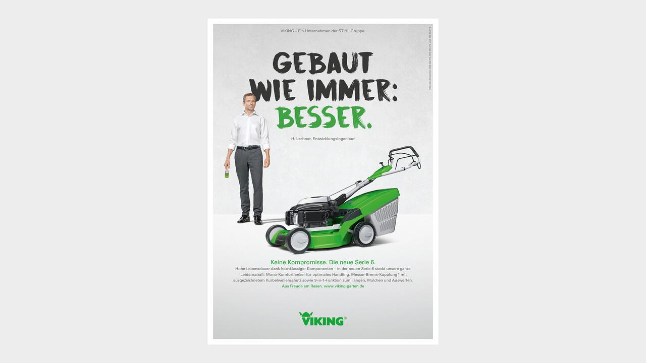 VIKING Print Anzeige Gebaut wie immer: besser.