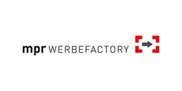 mpr WERBEFACTORY Logo