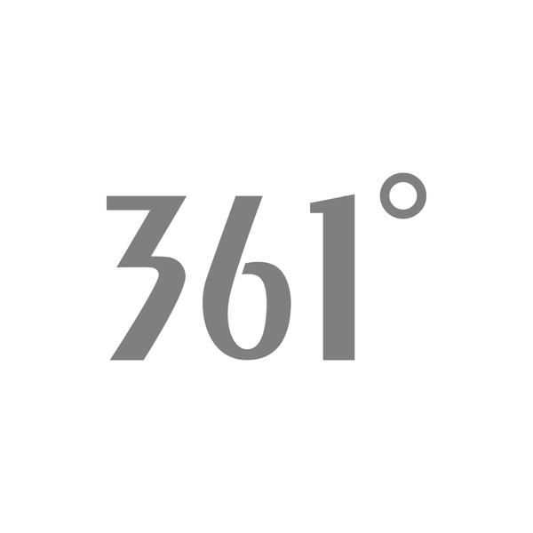 361° Logo grau