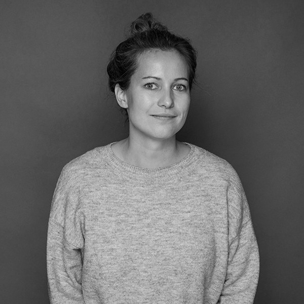 schwarz-weiß Portraitfoto Silke Kubon