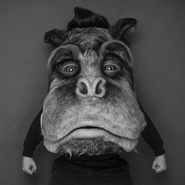 schwarz-weiß Portraitfoto Urs Blohm